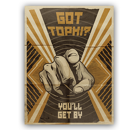 Got tophi? You'll get by